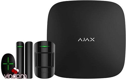 ajax Комплект сигнализации Ajax StarterKit Plus черный ko-28327