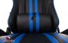 Кресло геймерское GT Racer X-2504-M Black/Blue Фото 5