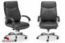 Кресло Новый Стиль RAPSODY steel chrome (Кожа Люкс LE) Фото 0