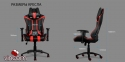 Кресло AeroCool AC120BG Gaming Chair Black-Green Фото 0
