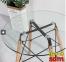 Стіл круглий SDM Имз скло 80 см Фото 0