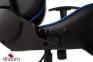 Кресло геймерское GT Racer X-2504-M Black/Blue Фото 6