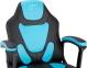 Кресло геймерское детское GT RACER X-1414 BLACK/LIGHT BLUE Фото 4