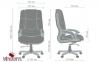 Кресло AMF Ванкувер кожа черная (625-B+PVC) Фото 4