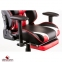 Кресло Special4You ExtremeRace black/red with footrest Фото 11
