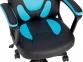 Кресло геймерское детское GT RACER X-1414 BLACK/LIGHT BLUE Фото 6
