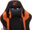 Кресло геймерское GT Racer X-3501 Black/Orange Фото 1