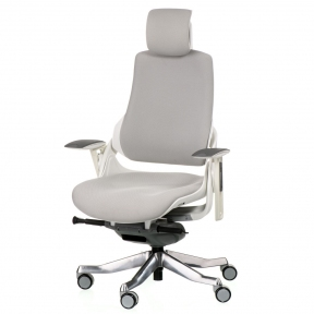 Кресло офисное Special4You WAU SNOWY FABRIC WHITE