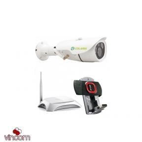 colarix Комплект видеонаблюдения Colarix ПЕРИМЕТР 3G 22624