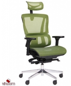 Кресло Amf Agile Black Alum Green