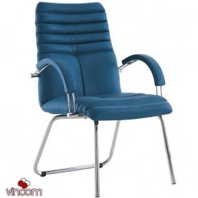 Кресло Новый Стиль GALAXY steel CFA LB chrome (Экокожа)