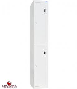 Шкаф одежный металлический ШО-400/1-2