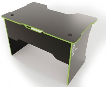 Стол ZEUS TRON Stalker черный/зеленый