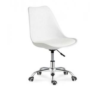 Кресло SDM Астер с подушкой белый