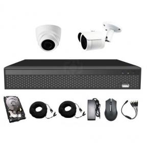 Комплект видеонаблюдения CoVi Security AHD-11WD 5MP MasterKit + HDD500