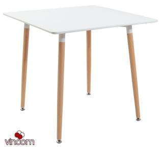 Стол Richman Ксавьер 80х80см квадратный белый
