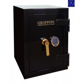 Сейф огне-взломостойкий GRIFFON CLE II.68.E BLACK GOLD