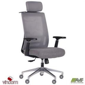 Кресло AMF Self серый/серый