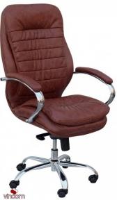 Кресло Примтекс Плюс Valencia Chrome H-2221S Brown
