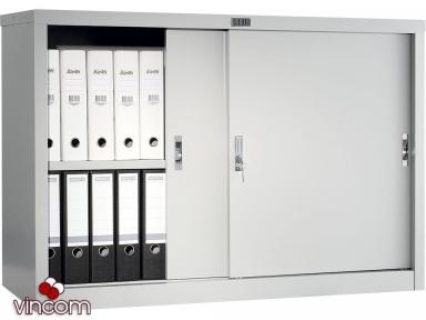 Шкаф офисный ПРАКТИК AMT 0812 купейного типа