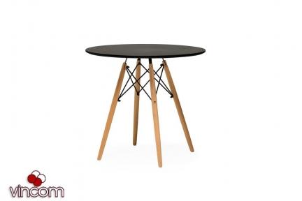Стол обеденный Vetro мебель ТМ-35 черный
