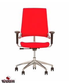 Кресло Новый Стиль HIP HOP R Black (Кожа Люкс LE)