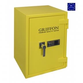 Сейф огне-взломостойкий GRIFFON CLE III.80.E COMBI GLOSS YELLOW