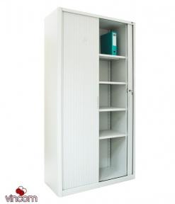 Шкаф канцелярский с роллетными дверьми ШКГ-10 Р