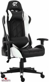 Кресло геймерское GT Racer X-2579 Black/White