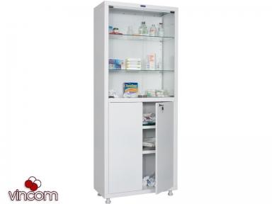 Медицинский шкаф ПРАКТИК MED 2 1670/SG