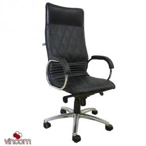 Кресло Новый Стиль ALLEGRO steel chrome (Экокожа)