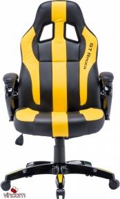 Кресло геймерское GT Racer X-2774 Black/Yellow