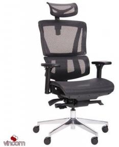 Кресло Amf Agile Black Alum Black
