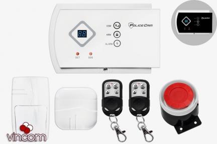 Комплект беспроводной сигнализации PoliceCam GSM G10A Prof