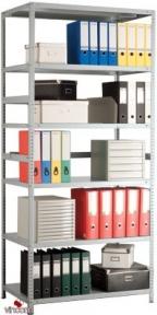 Стеллаж металлический Практик MS-3 1810-5 (185см/100x30) - 5полок