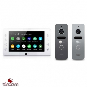 Комплект видеодомофона NeoLight Kappa Plus и NeoLight Solo Graphite