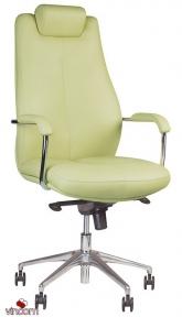 Кресло Новый Стиль SONATA steel chrome (Ткань Microfibre)