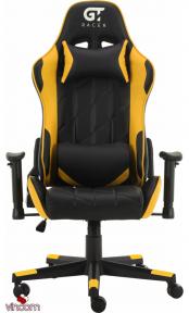 Кресло геймерское GT Racer X-2579 Black/Yellow