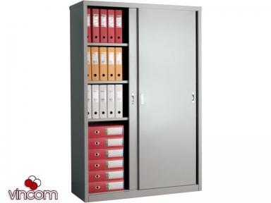 Шкаф офисный ПРАКТИК AMT 1812 купейного типа