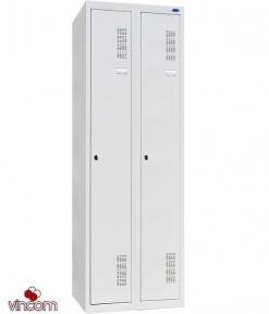 Шкаф одежный металлический ШОМ-300/2