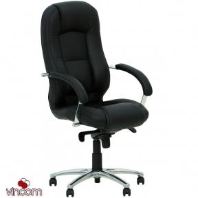 Кресло Новый Стиль MODUS steel chrome (Экокожа)