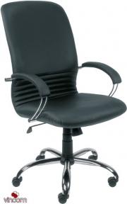 Кресло Примтекс Плюс Mirage Steel chrome (кожа Люкс)