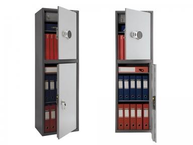 Шкаф бухгалтерский ПРАКТИК SL-150/2T EL