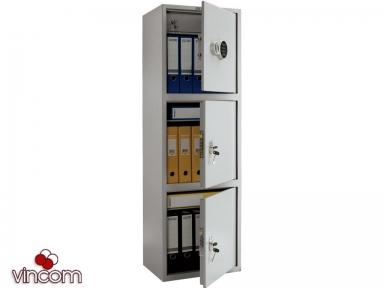 Шкаф бухгалтерский ПРАКТИК SL-150/3T EL