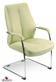 Кресло Новый Стиль SONATA CF LB steel chrome (Кожа Люкс LE)