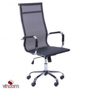 Кресло AMF Slim Net HB (XH-633) черный