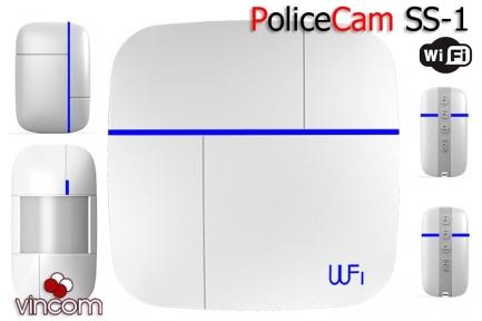 Комплект сигнализации PoliceCam Wi-Fi GSM Smart & Safe 868