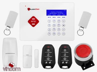 Комплект беспроводной сигнализации PoliceCam GSM 66A Base