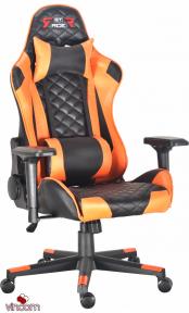 Кресло геймерское GT Racer X-2563-1LP Black/Orange