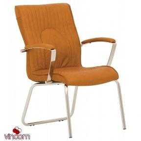 Кресло Новый Стиль FELICIA steel CFA LB chrome (Кожа Люкс LE)